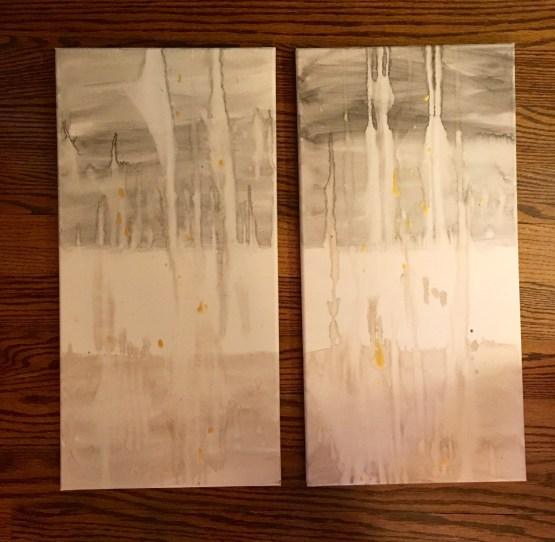 2, 12 x 24 watercolor