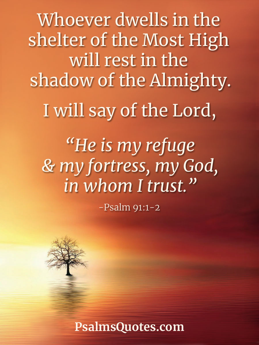 Psalm 91 Picture : psalm, picture, Psalm, 91:1-2, Protection