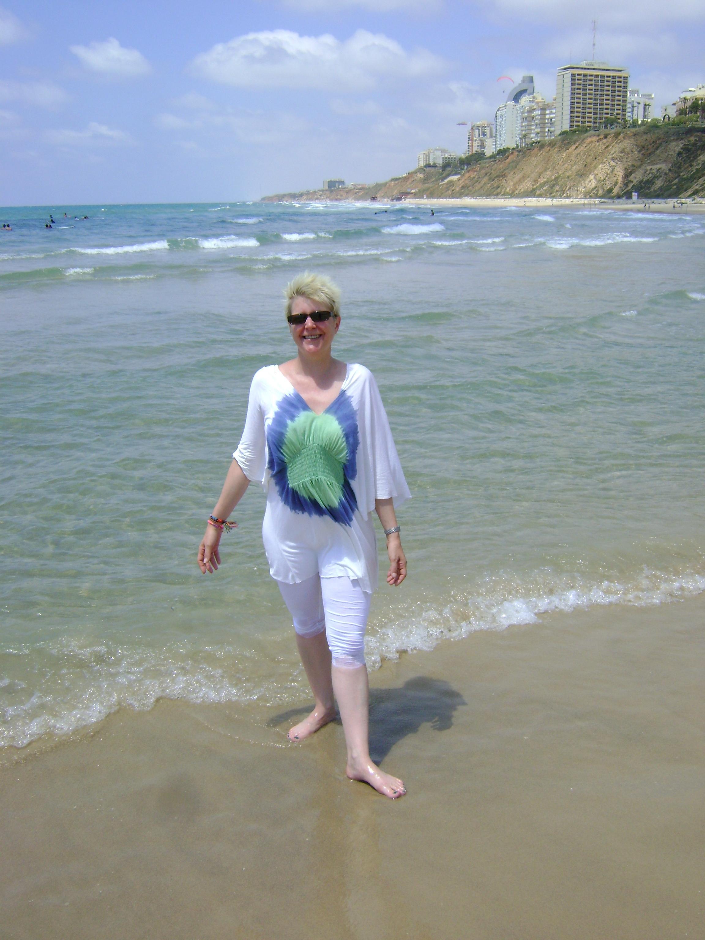 Me on the Beach 2