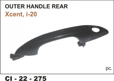 Outer Door Handle Xcent, I20 Elite Rear (LHS) CI-275Rl