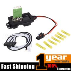 7 Wire Blower Motor Resistor Harness 2003 Dodge Ram Window Switch Wiring Diagram 89019088 Heater For Cadillac Chevy