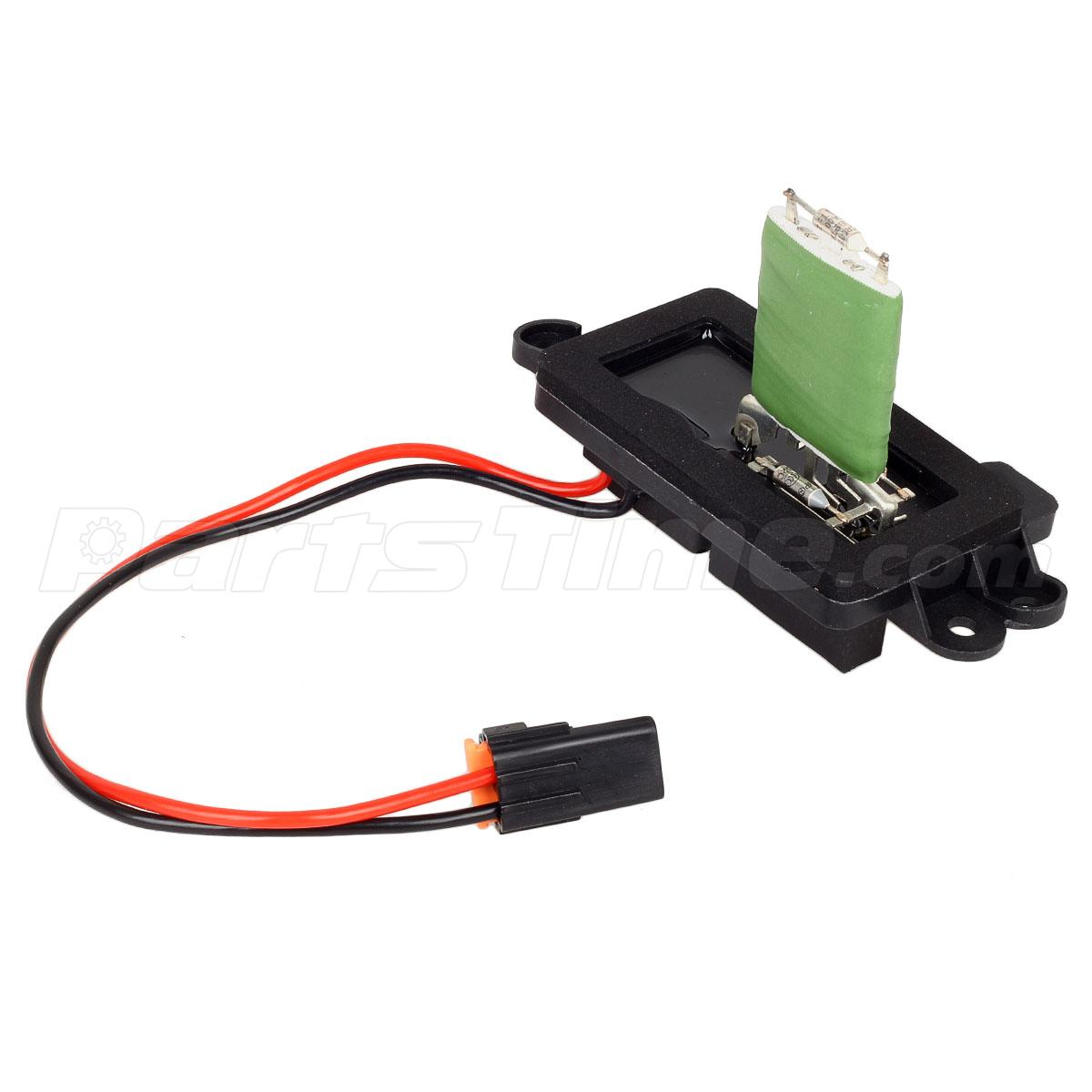 7 wire blower motor resistor harness thermo fan switch wiring diagram 89019088 heater for cadillac chevy
