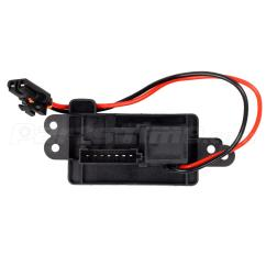 7 Wire Blower Motor Resistor Harness Samsung Dryer Belt Replacement Diagram 89019088 Heater For Cadillac Chevy