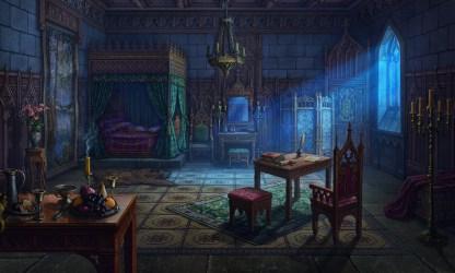medieval bedroom artstation
