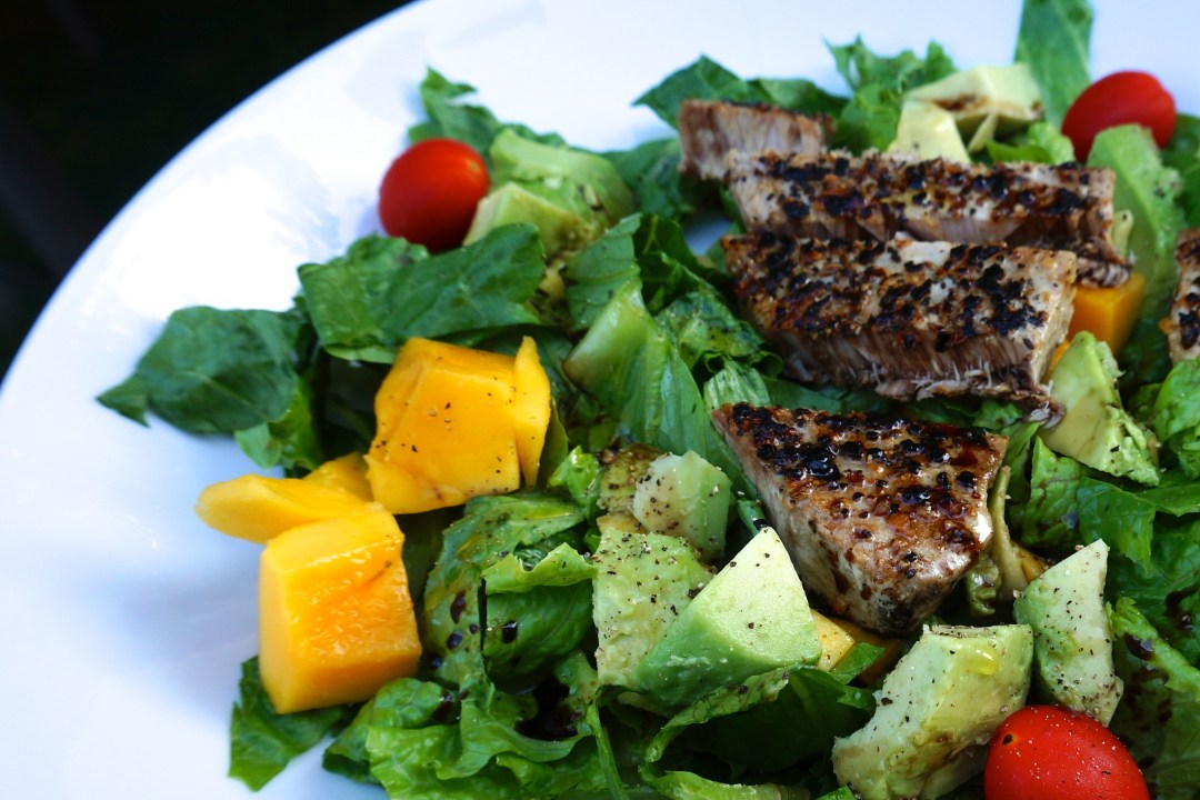Easy Tuna Mango Avocado Salad