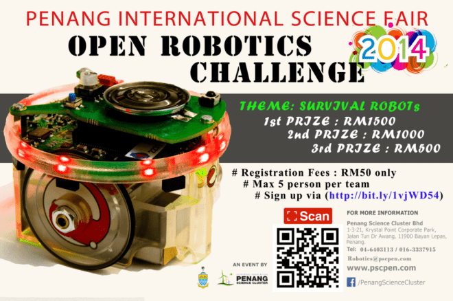 Robotic Competition Poster