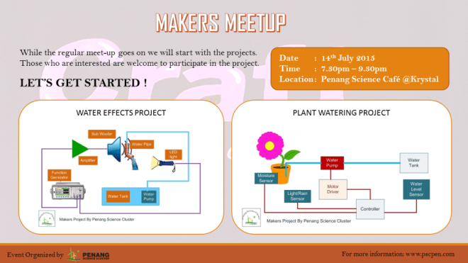 makers meetup july