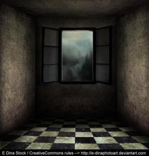 window creepy background premade empty photoshop backgrounds bg psd deviantart tutorials doorway favourites