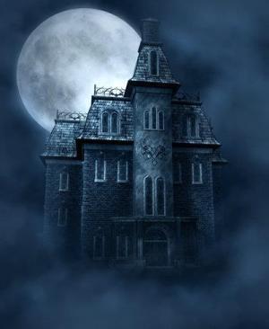 background deviantart haunted backgrounds halloween gothic houses photoshop horror dark spooky mansion ljilja moonchild places psd fantasy creepy moon tattoo