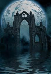 background gothic premade castle night dark photoshop horror backgrounds moon ashensorrow deviantart church tutorials deviant textures