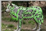 paint quick realistic fur