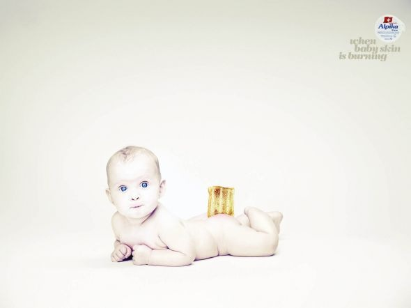 anti-rash cream Funny Print Ads Crazy but Creative