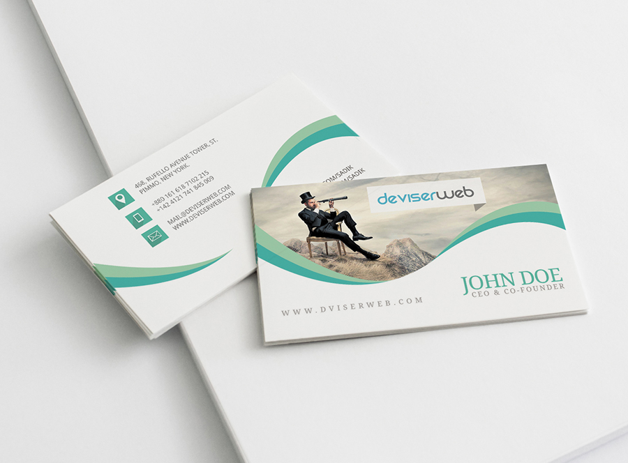 Free Creative Photography Business Card – PSDboom