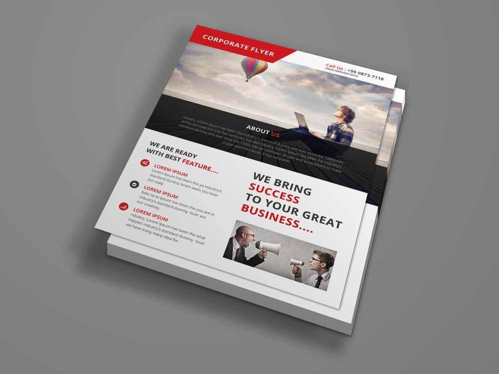 Free Psd Corporate Flyer