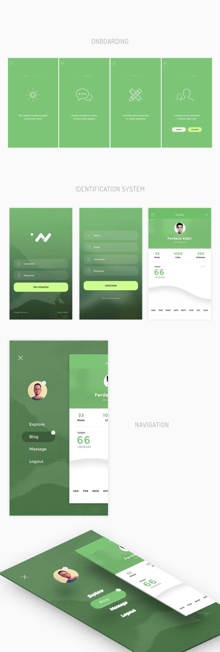 free-psd-mobile-app-ui