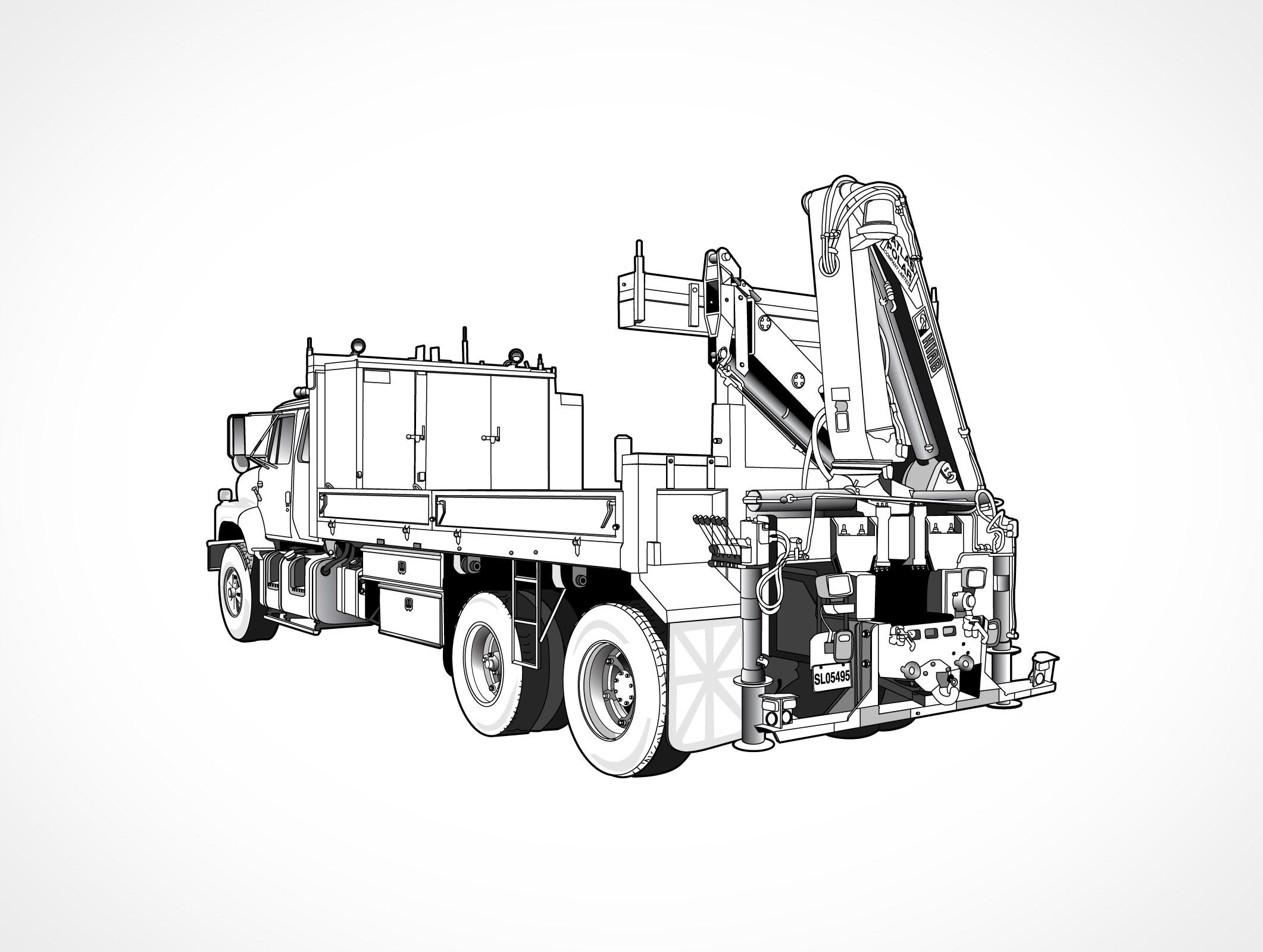 Hoist Lift Truck