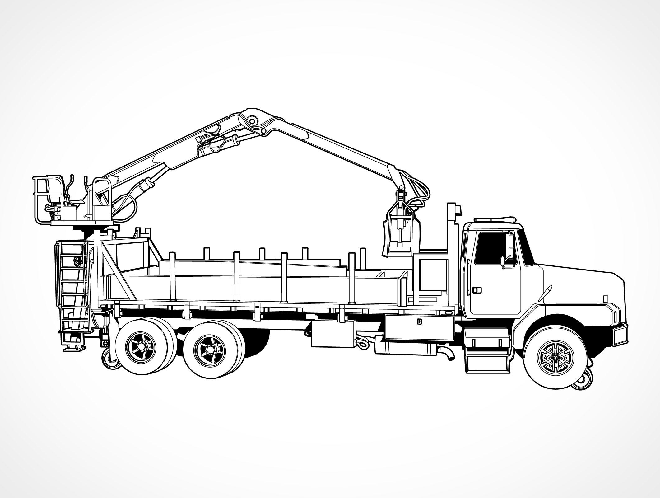 Truck Crane: Utility Truck Crane