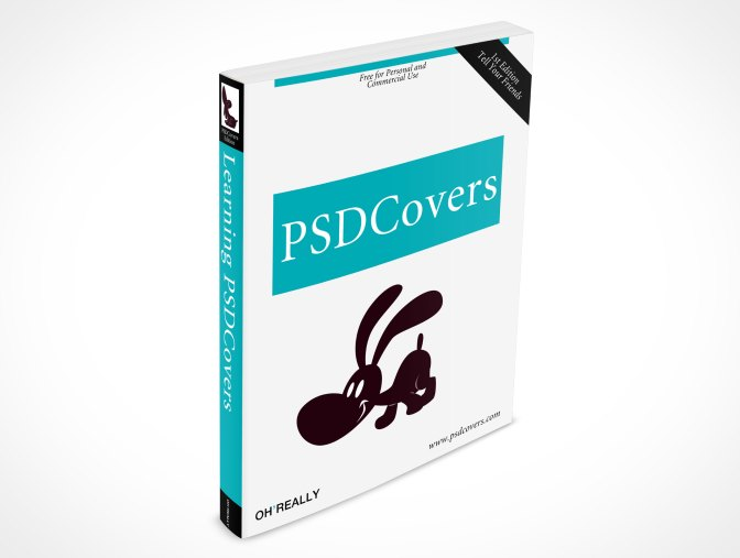 A sample cover from PSD Covers