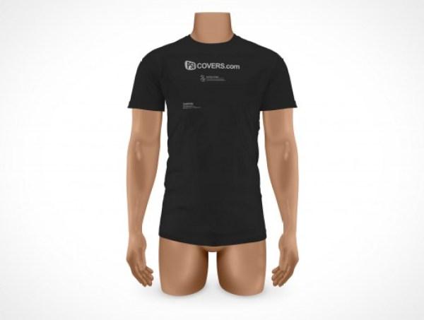 TSHIRT002 t shirt template mockup free
