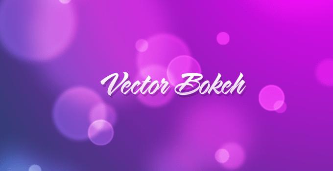 Scalable Vector Bokeh