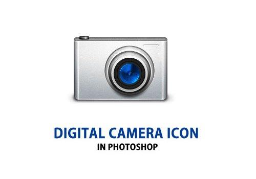 Digital Camera Icon PSD