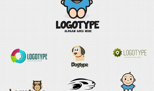 PSD Logo Design Templates Pack 4