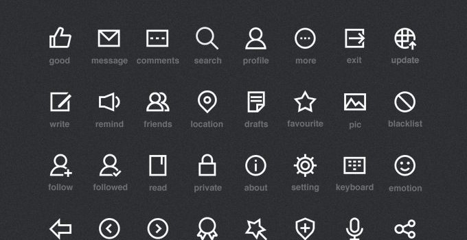 Rectangular Icons