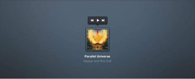 Audio Player with Album Cover Artwork