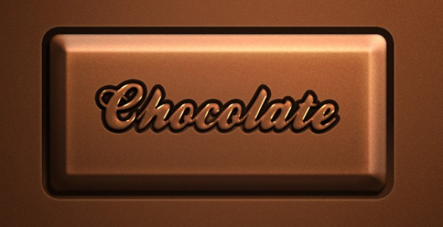 awesome chocolate text effect