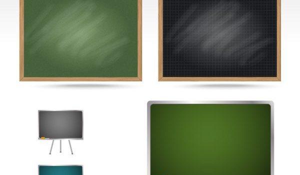 Blackboard teaching equipment PSD