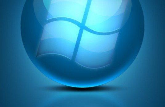 blue cool texture logo psd layered material