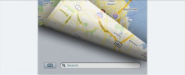 bookmark button map search