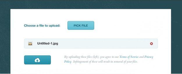 button file picture progress