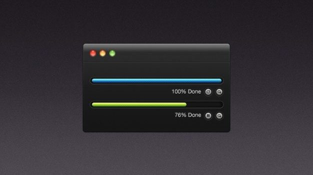 buttons dark download free ing mac procent psd ui upload user interface