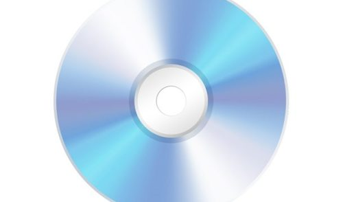 PSD compact disc CD icon