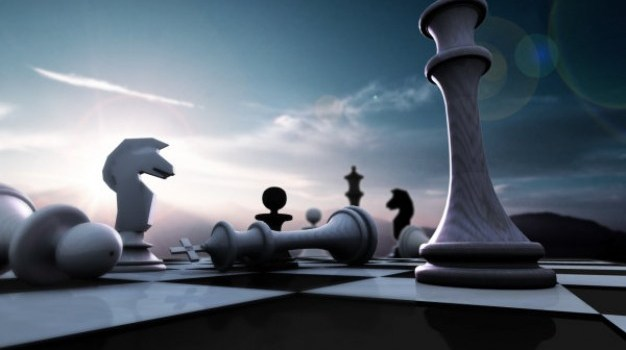 chess psd layered material