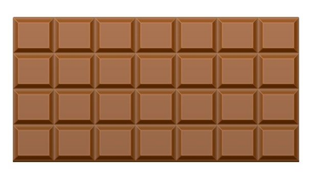 Dark chocolate bar, seamless texture