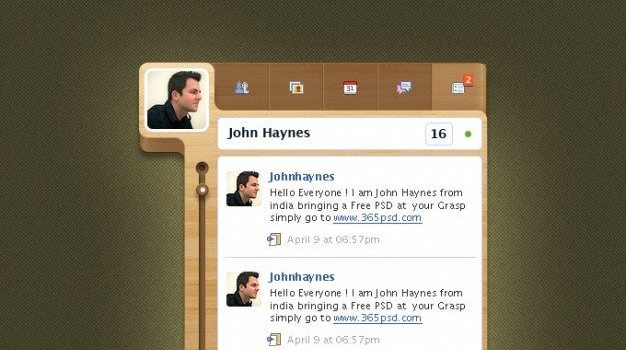 custom designs facebook facebook widget graphics design photoshop widget wooden