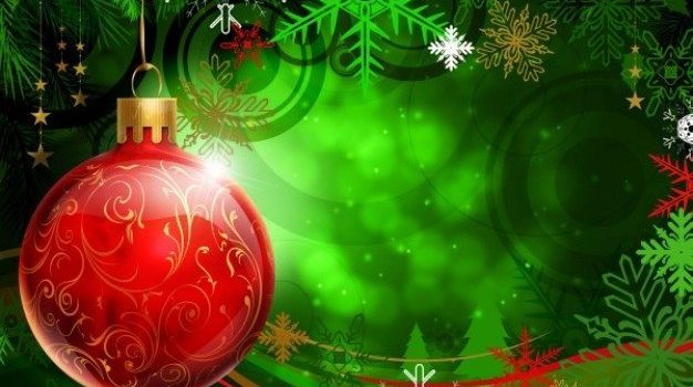 dream christmas hanging ball psd layered