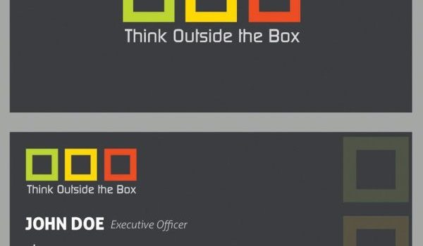 Elegant business card templates 04 PSD