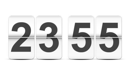 Flip clock template (PSD)