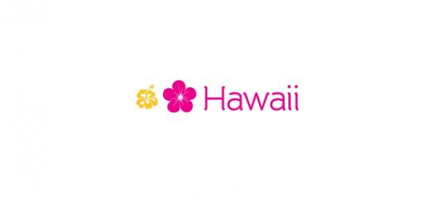 flower logo template & ; hawaii
