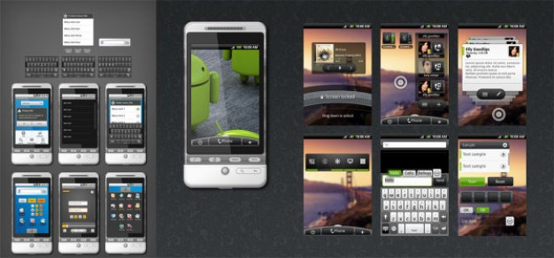 full psd source file of the wds the android gui