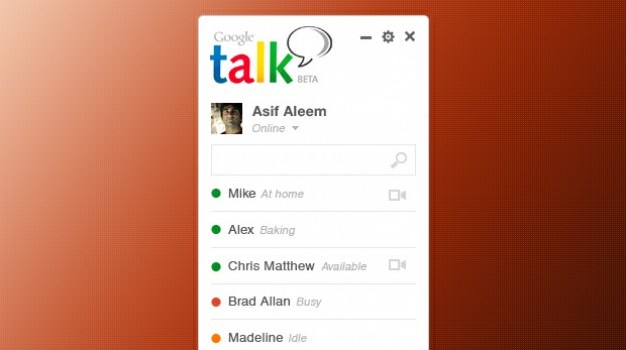 Google Talk Concept Design