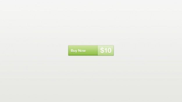 Green buy now button PSD
