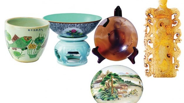 heritage antique porcelain psd material