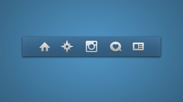 icon set icons instagram