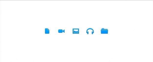 icons image  folder music video