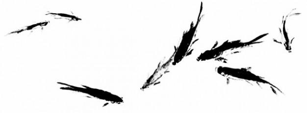 ink fish psd material
