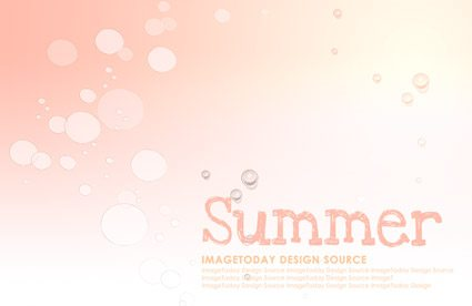 Korea style summer backgrounds layered PSD material 2